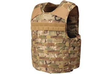 Blackhawk STRIKE Cutaway Carrier Slick Tactical Armor Carrier Vest, MultiCam, Extra Large 32V404MC-CTS