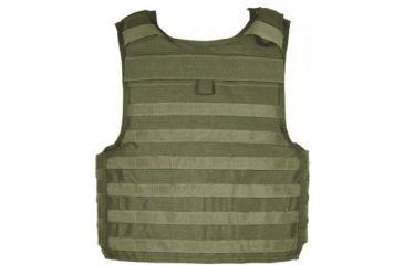 Blackhawk Strike Cutaway Carrier Slick Tactical Armor Carrier Vest Olive Drab Extra Large Made In Usa 32v404od