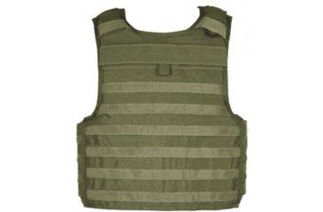 Blackhawk Strike Cutaway Carrier Slick Tactical Armor Carrier Vest Olive Drab Medium Made In Usa 32v402od