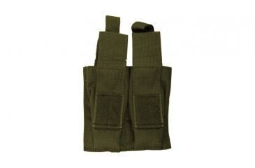 Blackhawk S.T.R.I.K.E. Double Pistol Magazine Pouch w/TalonFlex & Speed Clips, OD Green, 38CL10OD
