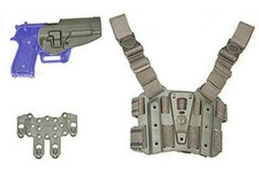 BlackHawk S.T.R.I.K.E. SERPA Combo Kit LG-XXL - Foliage Green - Right Hand 40SC03FG-R
