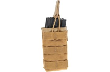Blackhawk STRIKE Single M4/M16 Mag Pouch, Coyote Tan - Made in USA 39CL68CT-USA