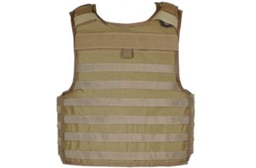 Blackhawk Strike Tactical Armor Carrier Vest Non Cutaway Coyote Tan Extra Small 32v500ct Cts