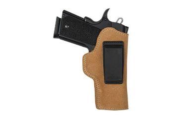 BlackHawk Suede Leather Angle Adjustable ISP Holster for 1911 Gov't Left Hand 421808BN-L