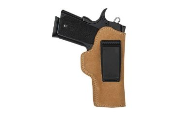 BlackHawk Suede Leather Angle Adjustable ISP Holster for Glock 30 / S&W M&P Compact Left Hand 421810BN-L