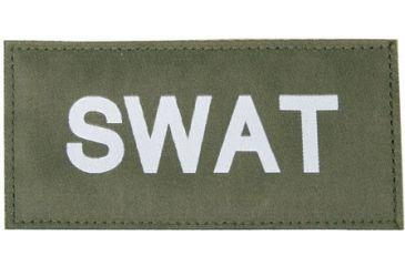 Blackhawk 90IN07 SWAT Patch White on Green