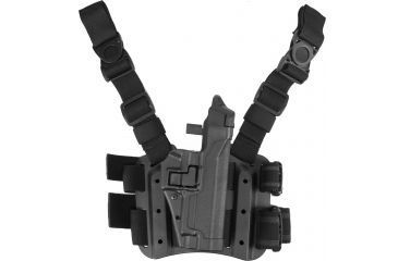 15-Blackhawk SERPA Tactical Level 3 Thigh Holster