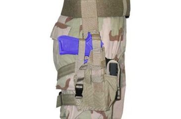 BlackHawk Tactical Omega VI Elite Airborne Holster Left Hand Draw - Sig 220,226,228/Glock 17/19/22/23/27