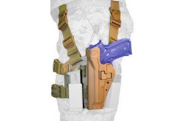 BlackHawk CQC Tactical SERPA Holster - COYOTE BROWN