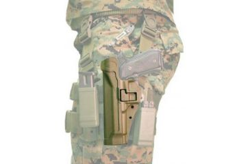 BlackHawk CQC Tactical SERPA Holster - FOLIAGE (Beretta Only) Mag Pouch Not Included