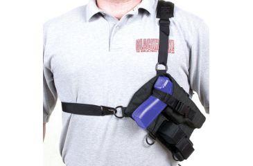 Blackhawk Taser Universal Harness/Holster 40SH05BK-LEFT