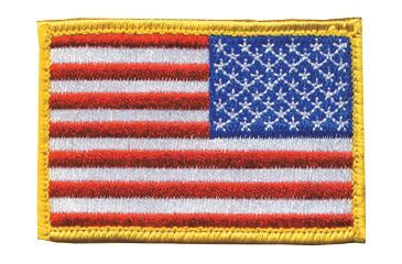 BlackHawk Velcro Reversed American Flag Patch 90RWBV-R