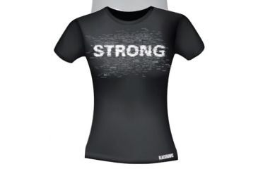 BlackHawk Women's Graphic T-Shirt - STRONG, Black, 2XL 92GT01BK-2XL
