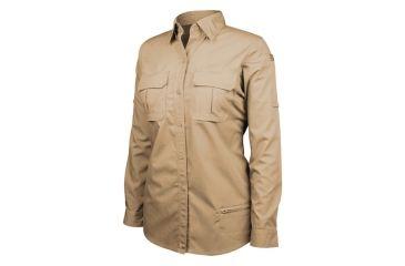 Blackhawk Women's Long Sleeve Tactical Shirt, Khaki - 2XL 92TS01KH-2XL