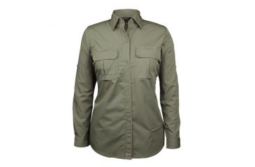 Blackhawk Tactical Shirt - LS Womens, Olive Drab - 2XL 92TS01OD-2XL