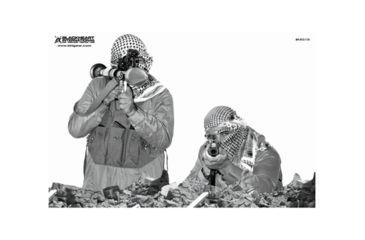 Blackheart Custom Global War On Terror Target RPG And Krinkov Gunner Measures 23x35 Inches 100 Pack