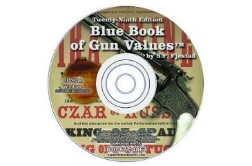 Blue Book Publications 29th Edition Gun Value CD Rom 54134