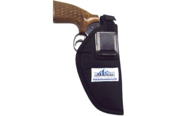Blue Stone Nylon Belt Clip Black LRG Holster BC13-003-R