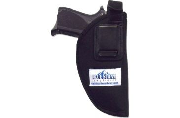 Blue Stone Nylon Belt Clip Black MD Holster BC13-002-R