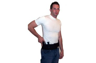 Blue Stone Original Belly Band Holster, Black, Universal, Right Hand, 2XL / 48-52 - B121-005-R