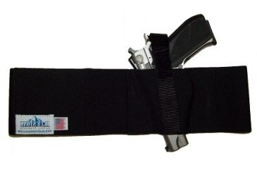 Blue Stone Safety, Basic Belly Band Holster, Black, Small, LH, B232-001-L