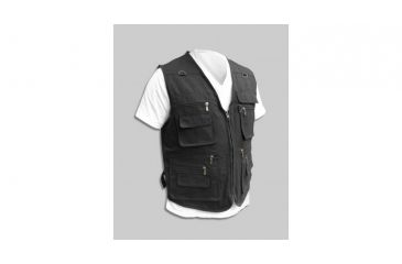 Blue Stone Safety, Concealment Vest, Black, 3X, C566-006-0