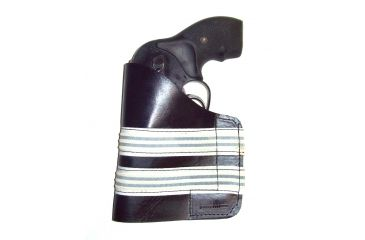 Blue Stone Safety, Leather Pocket Holster, Black w/White, P301-000-0