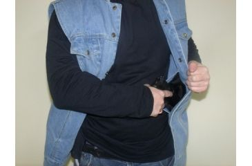Kostuumvest Op Jeans.Blue Stone Safety Mens Jean Concealment Vest 5 Star Rating