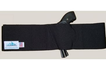 Blue Stone Safety, Pro Belly Band Holster, Black, Medium, LH, B250-002-L