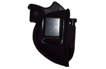 Blue Stone Safety, Ruger LCP Special Ops Belt Clip Holster No Mag, Black, LH, BCS014BK-L-NM
