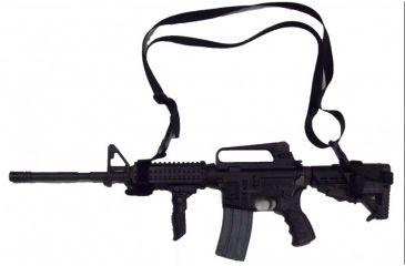Blue Stone Safety Tactical AR15/ M16 Rifle Sling, Black M16SL-01