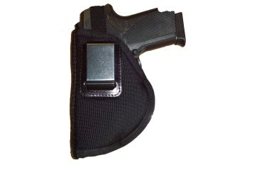 Blue Stone Safety The Investigator Leather Belt Clip Holster Black/ Glock 26-27/ Right Hand, Black BC27-BK-GL-RH