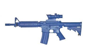 Blue Training Guns by Rings M4cmd Flttopcstckfrailacog Wbk - FSM4CFTRCSACOGWB