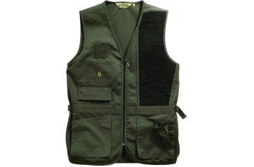 Bob Allen 240S Solid Shooting Vest - Sage, Left Hand, 2XL - 30187