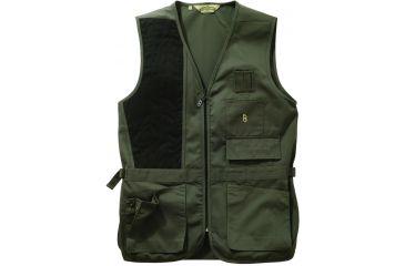 Bob Allen 240S Solid Shooting Vest -  Sage, Right Hand, 4XL - 30195