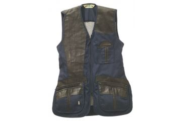 5-Bob Allen 280M Shooting Vest - Mesh Back & Leather