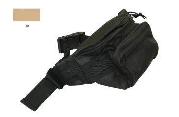 Bob Allen BAT300 Tactical Waist Bag,Tan 79020