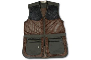 Bob Allen 290M Shooting Vest - Full Mesh Dual Leather Pads