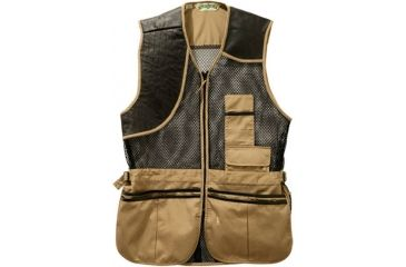 Bob Allen 260M Shooting Full Mesh & Leather Vest - Full Mesh & Leather