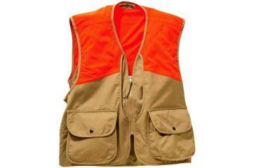 Bob Allen BA50 Upland Hunting Vest, Color: Tan/Orange