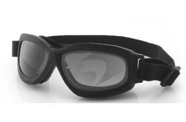 fe2e8939abaa1 Bobster Bravo 2 Ballistic Goggle BBRA201. Black Frame.