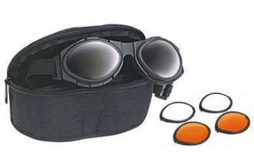 24b416a14a Bobster BugEye II Interchangeable Goggles w  Black Frame