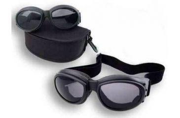 Bobster Cruiser II Black Frame Bi-focal RX Prescription Lenses Interchangeable Goggles