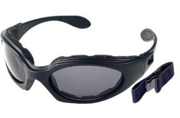 Bobster GX Lined Bifocal RX Prescription Lenses Black Frame Sunglasses - Goggles