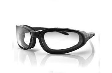 Bobster Hekler Sunglasses - Black Frame and Anti Fog Photochromic Lens EHEK001