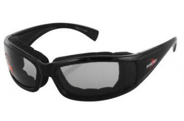 Bobster Invader Sunglasses, Black Frame, Photochromic Lenses, BINV101