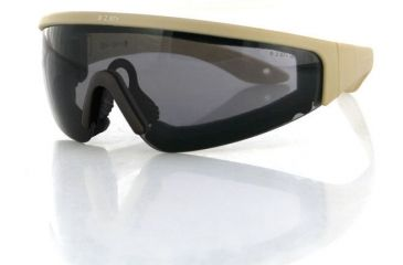 Bobster Prowler Sunglasses, Tan Frame, Smoked Lens BW8001T