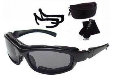 Bobster Road Hog II Convertible Goggle - Sunglass Action Eyewear Bifocal RX Prescription Lens System