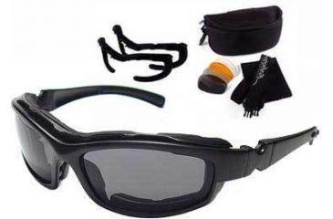 8a40562b21 Bobster Road Hog II Convertible Goggles - Sunglasses Action Eyewear ...