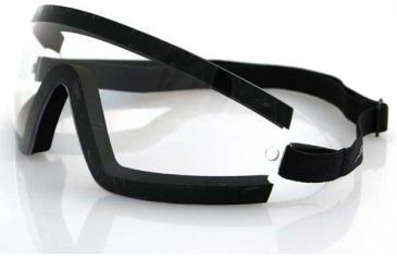 Bobster Wrap Around Goggle, Clear Lens, BW201C